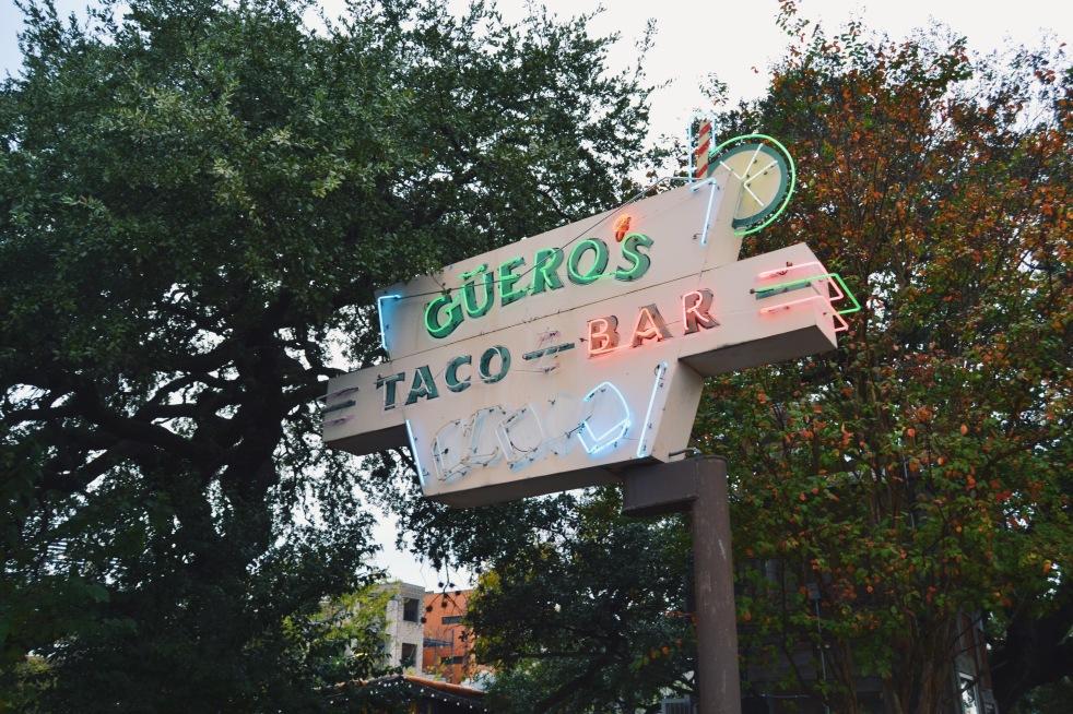 Guero taco bar