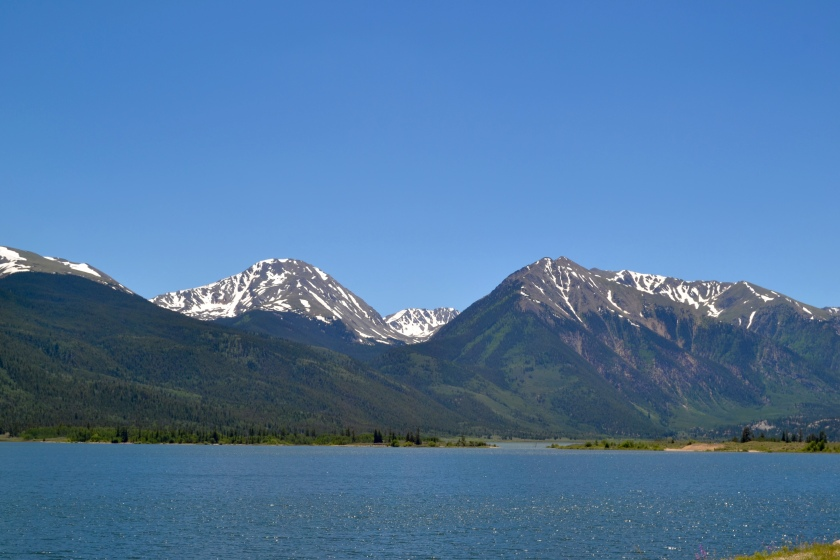 Twins Lakes Mountain